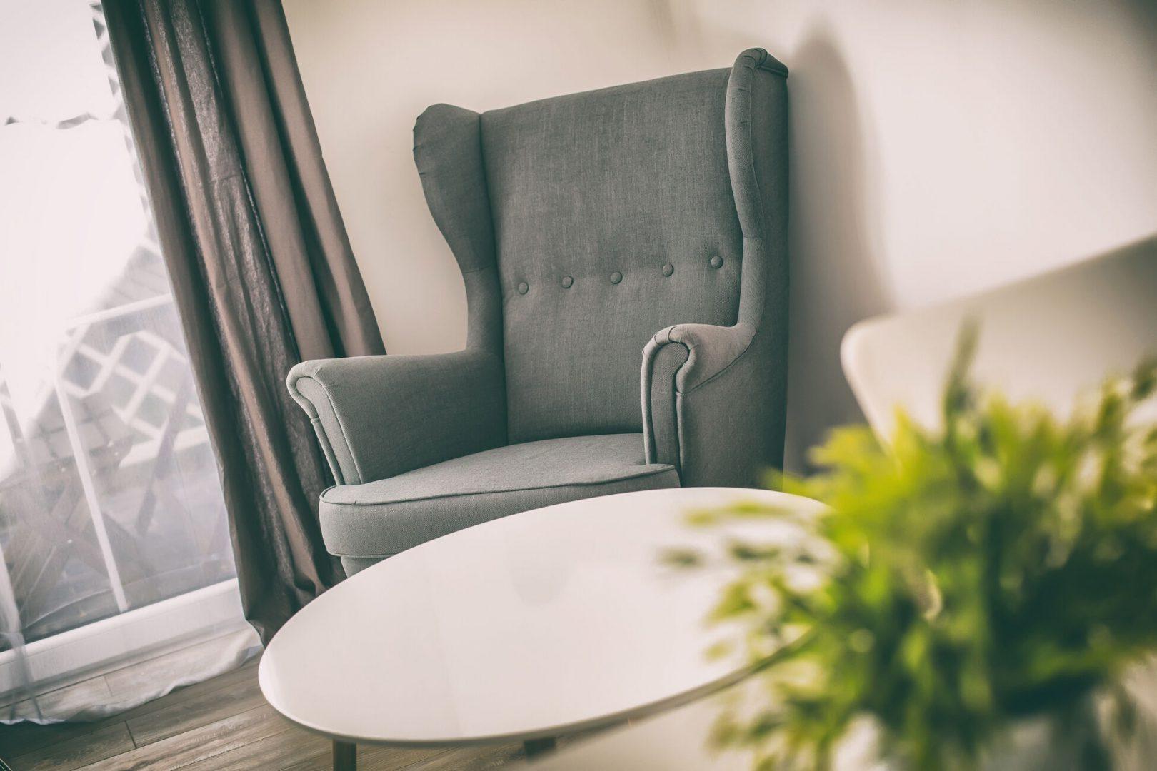 część wypoczynkowa w apartamentach baltica